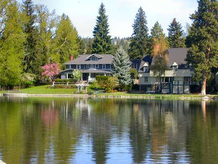 woods lake: Lago paradiso