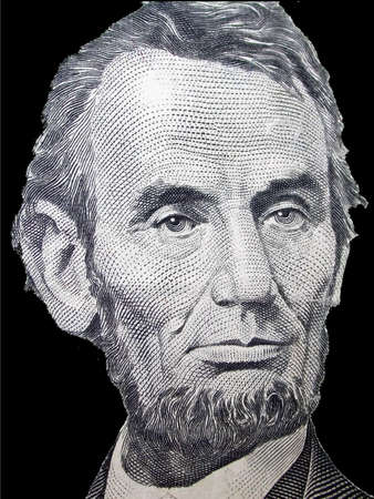 founding: Abrahm Lincoln - $5 Stock Photo