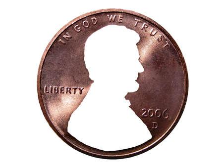 penny: Penny Face Cutout
