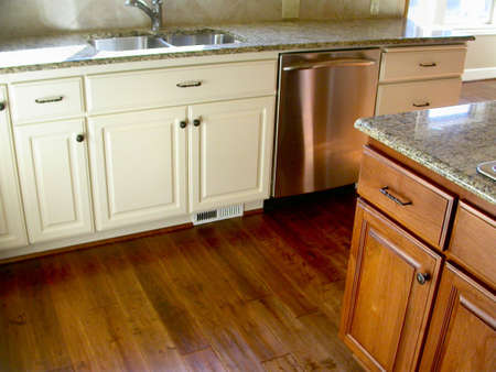 painted wood: Custom Kitchen Cabinets