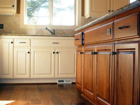 Keuken Kasten Stockfoto