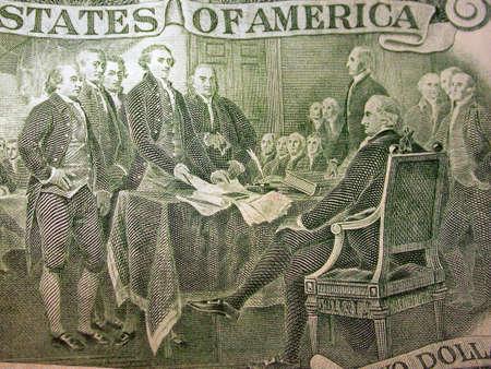 founding: Two Dollar Bill Back