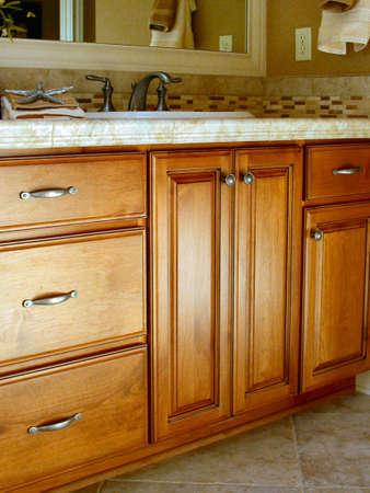custom cabinet: Bathroom Vanity