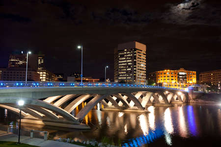 ohio: The new Rich Street Bridge in Columbus Ohio