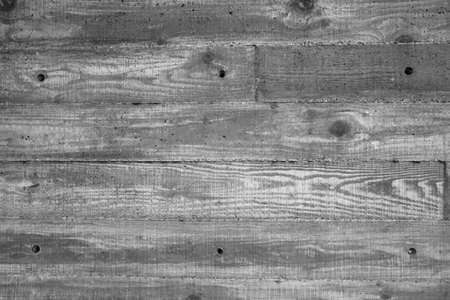 Concrete wall with wood imprint