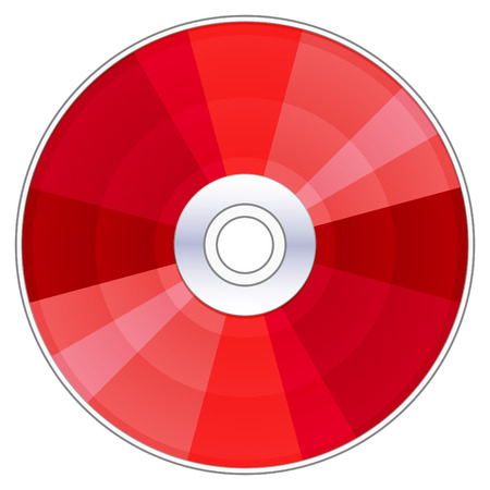 red compact disc