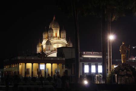 Dakshniswar Kali Temple at West Bengal Editorial