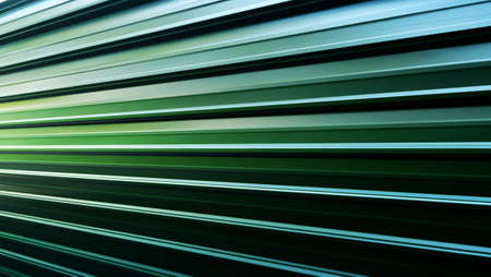 Green steel sheet background