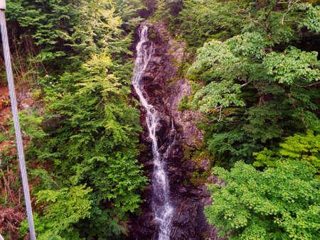 Japanese waterfall Stock Photo