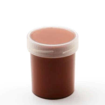gouache: Brown gouache paints