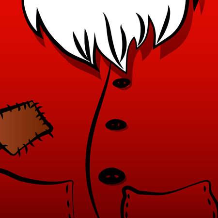 pere noel: Noël fond de Santa