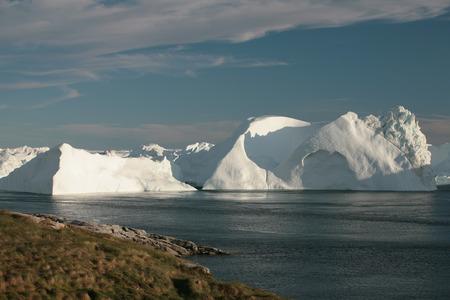 icefjord: Summer day at Kangia Icefjord near Ilulissat