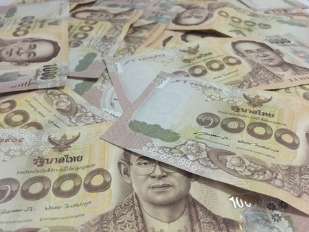 thousand: Many Thai money is rich