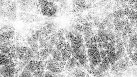 Plexus of abstract network connection background.