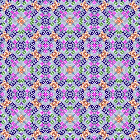 Kaleidoscope seamless patterns abstract multicolored background. Magic mandala