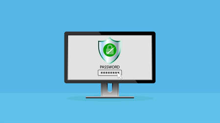 Secure access and data privacy, Cyber security and data protection concept