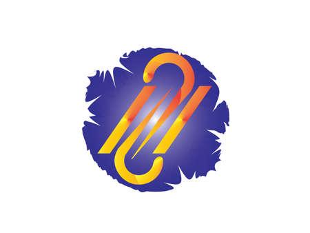 Social concept vector logo design template. Science technology abstract icon - vector logo. Teamwork symbol. Social Network. Community icon.