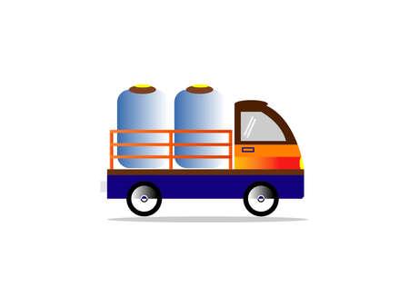 Colt Delivery Transportation Service. Old Car icon.Transportation icon.Vector illustration