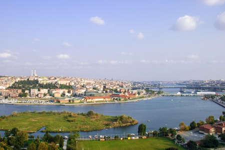 Luftaufnahme der Istambul, die Türkei