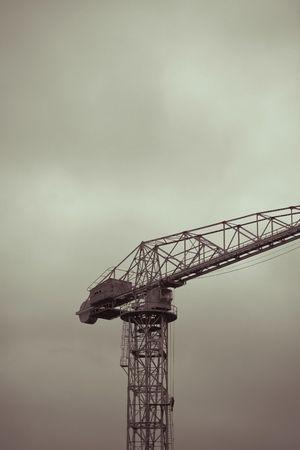 An old crane