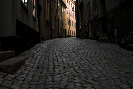 Streets in old town