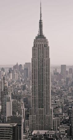 Skyscrapers in New York Editorial
