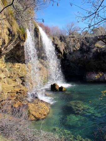 naturaleza: Saltos de Agua En El Campo Stock Photo