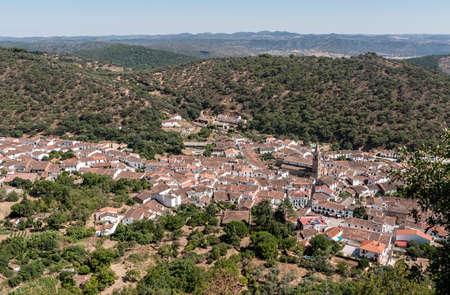 huelva: Views Aljar Township in the province of Huelva Stock Photo