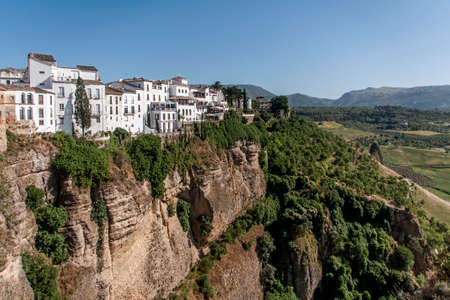 gash: Ronda, city of Tajo, Andalusia Stock Photo