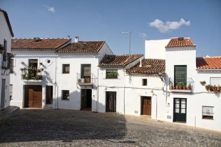 province: Streets of the town of Aracena in the province of Huelva
