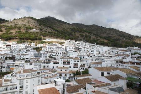 town planning: Views of the municipality of Mijas, Mlaga Stock Photo