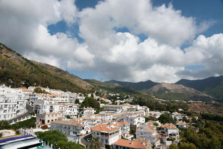 town planning: Municipality of Mijas village, Mlaga