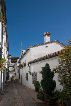 town planning: Andalusia, streets of the town of Benalaura, Mlaga