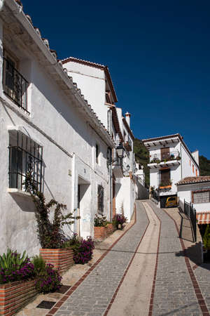 town planning: Benalaura municipality in the province of Mlaga, Andalusia Stock Photo