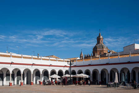 monumental: Views of the monumental area of Carmona, Seville