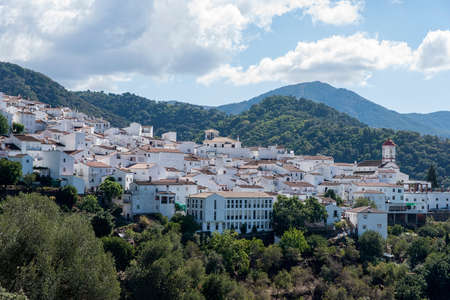 municipality: Genalguacil municipality in the province of Mlaga, Andalusia Stock Photo
