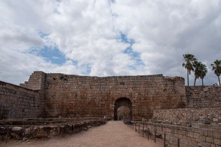 monumental: monumental fortress of Mrida area, Spain