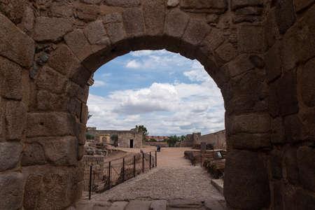 monumental: monumental fortress of Mrida area, Spain