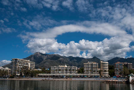 town planning: Marbella view  Stock Photo