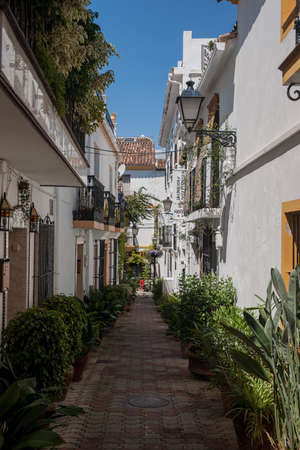 town planning: Streets of Old Marbella, Mlaga