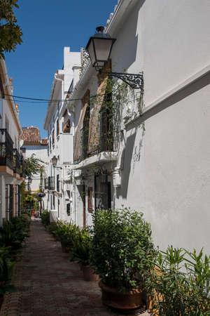 town planning: Streets of Old Marbella, Mlaga