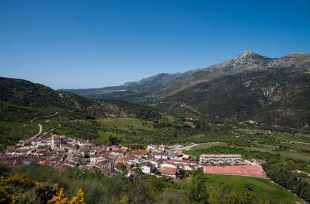town planning: Jimena LBAR municipality in the province of Mlaga, Andalusia