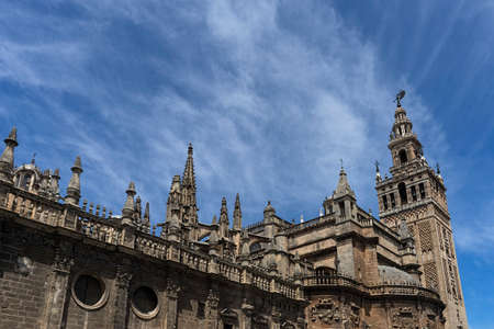 monumental: Monumental Sevilla, the cathedral of Seville