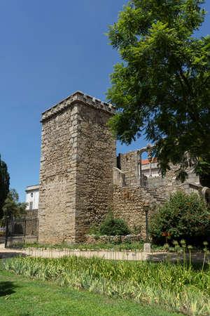 monumental: Views of the monumental public ? ? vora Garden of Portugal Stock Photo