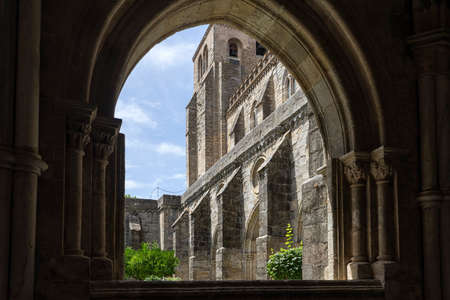 Cathedral Basilica of Our Lady of the Assumption of vora, Portugal Editorial