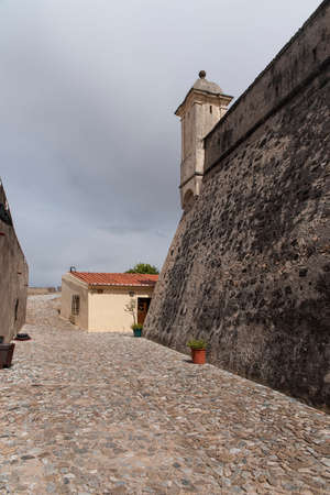 humankind: ancient fortress of Santa Lucia in the Portuguese town of Elvas, Portugal