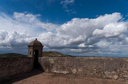 humankind: Ancient fortress of Elvas, Portugal