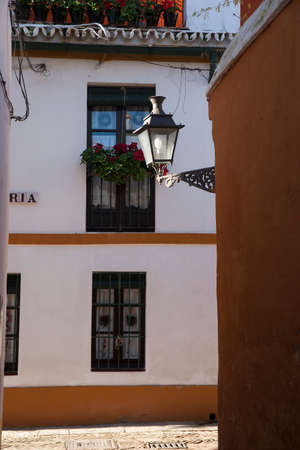jewish: Sevilla and Its Jewish quarter Stock Photo