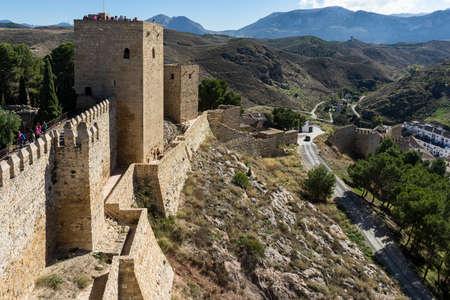 alcazaba: Monuments in Andalusia, La Alcazaba de Antequera, Mlaga
