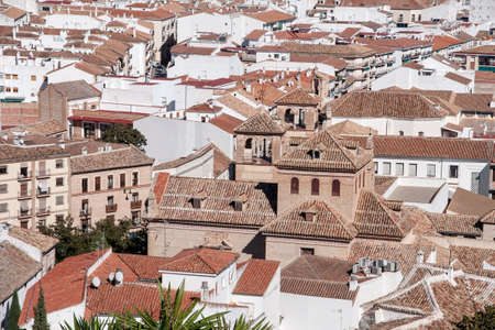 monumental: Views of the monumental city of Antequera in the province of Mlaga, Andalusia